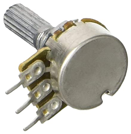 sourcingmap/® 6mm Shaft Dia 100k Ohm Type A Single Linear Potentiometer