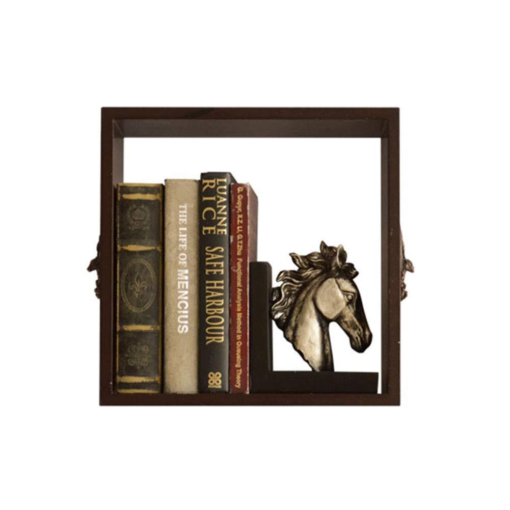 LANA 壁掛け式フローティング棚棚多角形アメリカのミニマリスト収納ラック装飾オーガナイザーリビングルームキッチン寝室 (色 : B) B07RQ6W5LW B
