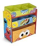 toy room ideas Delta Children Multi-Bin Toy Organizer, Sesame Street