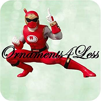 2003 Hallmark Ornament Red Power Ranger Ninja Storm