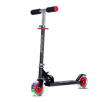 SCOOTERYW Scooter para niños de Dos Ruedas con elevación y ...