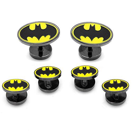CUFFLINKS INC Enamel Batman Tuxedo Stud Set (Black)
