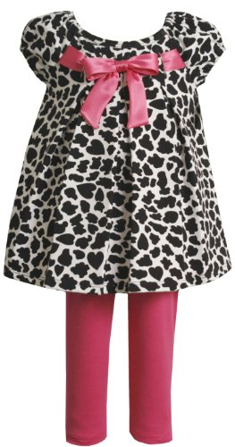 Bonnie Baby Animal Print Top Legging Set
