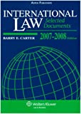 International Law 2007-2008, Carter, Barry E., 0735564167