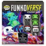 Funkoverse: Disney The Nightmare Before Christmas 100 4-Pack Board Game - Amazon First to Market Exclusive