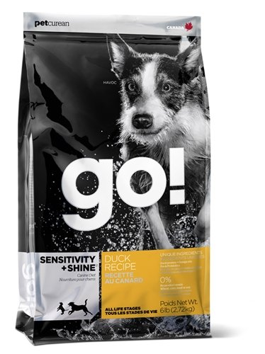 Petcurean Go! Sensitivity and Shine Duck Dry Dog, 6-Pound
