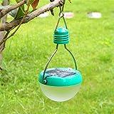 Ideapro Solar Lantern Super Bright 7 Led Bulbs Sports Light 3w 2v/100ma Outdoor Camping Lamp