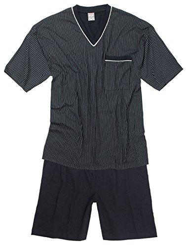 Marine Bordeau amp; Noir Court Adamo Pyjama qTXwBAP