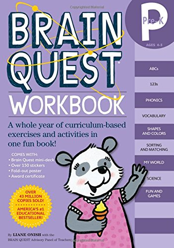 Brain Quest Workbook: Pre-K (Brain Quest Workbooks)