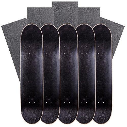 該当する支出バズCal 7空白Mapleスケートボードデッキwithグリップテープ(バンドルの5 )