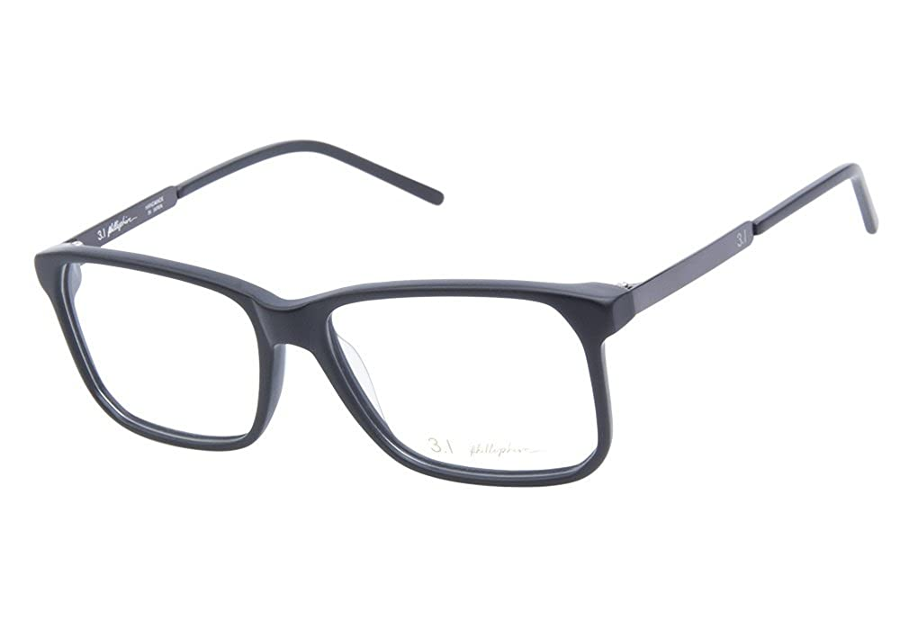 Amazon.com: 3.1 Phillip Lim Frankie Black Eyeglasses (Unisex ...