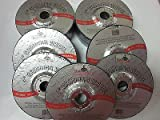 ~ 15~4'' DISC 1/4'' THICK 5/8'' ARBOR GRINDING WHEEL CUTTING METAL 15,200 RPM GIT