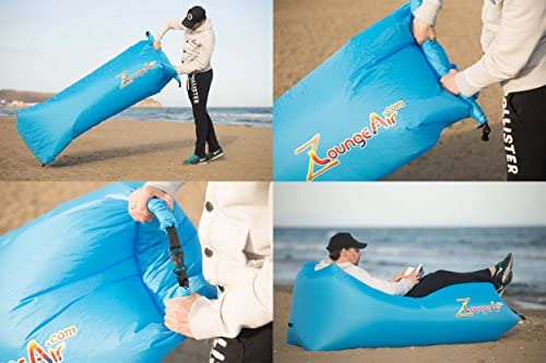 Amazon.com: zloungeair Lounger – inflable Sofá inflable para ...