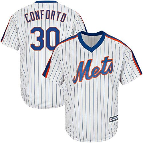 Majestic B07GNT8V17 Majestic Michael Conforto New York Mets White Mets Home York Cool Base Player Jersey スポーツ用品【並行輸入品】 XXL B07GNT8V17, 荻町:7157bb66 --- cgt-tbc.fr