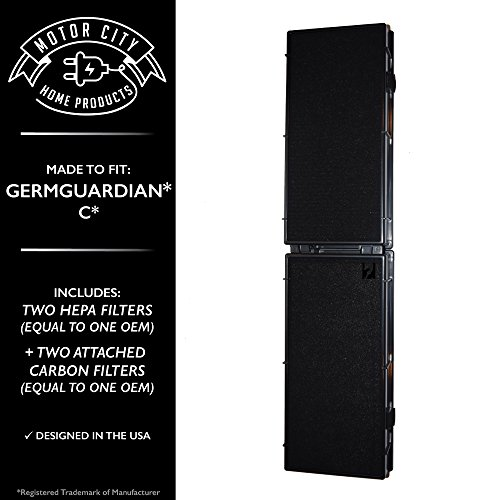 4 GermGuardian Filter C Pet, Compare to Part # FLT5250PT 17565342