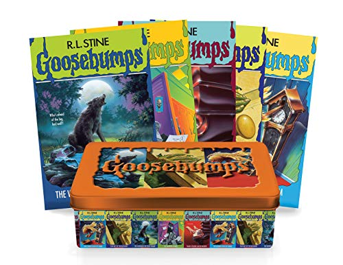 Goosebumps Retro Fear Set: Limited Edition Tin