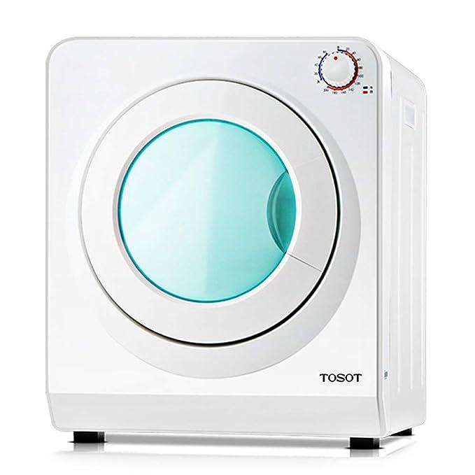 QXKMZ Secadora de condensación, Tambor Interno de Acero Inoxidable, calefacción de Ciclo estéreo de 360 °, Rejilla de Secado de la máquina para hogar y ...