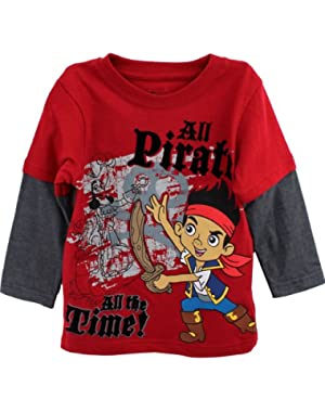 Boys' Jake and The Neverland Pirates Screen-Print T-Shirt