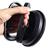 PU Health Pure Acoustics Easy Car Dent Puller Suction Cup, Black