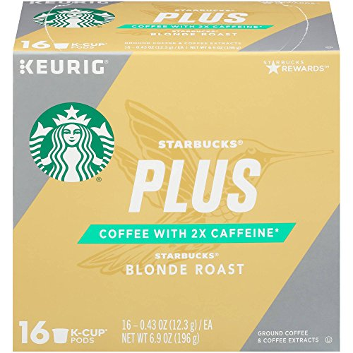 Starbucks Keurig K-Cup Plus Blonde Roast (16 pods),6.9oz, pack of 1
