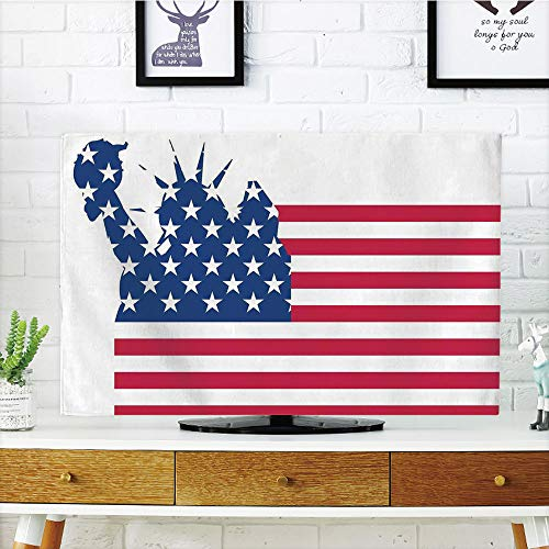 iPrint LCD TV Cover Lovely,NYC Decor,Statue of Liberty on Fl