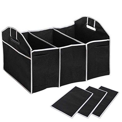 Autoark Multipurpose collapsible Car SUV Trunk Organizer - Car SUV Trunk Storage,21 x 12.5 x 10 inches,AK-051