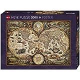 Heye Puzzle Vintage World Zigic, 2000 Pezzi, 97 x 69 cm VD-29666