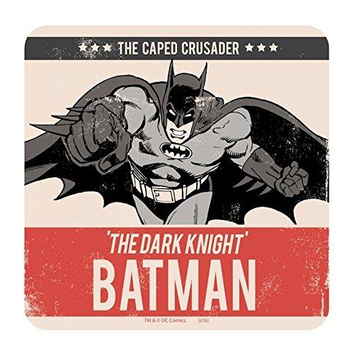 Batman The Caped Crusader Single Coaster