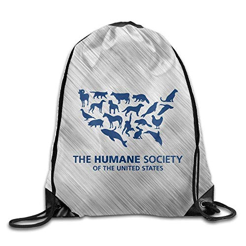 PIHJE I Heart Love Trash Garbage Sport Backpack Drawstring Print Bag