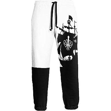 Eternity Bliss Barco Pirata en el mar Pantalones de chándal Negros ...