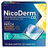 Nicoderm Cq Clear Patch Size 14ct Nicoderm Cq Clear