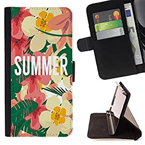 Jordan Colourful Shop - FOR Apple Iphone 6 PLUS 5.5 - i like summer - Leather Case Absorci¨®n cubierta de la caja de alto impacto