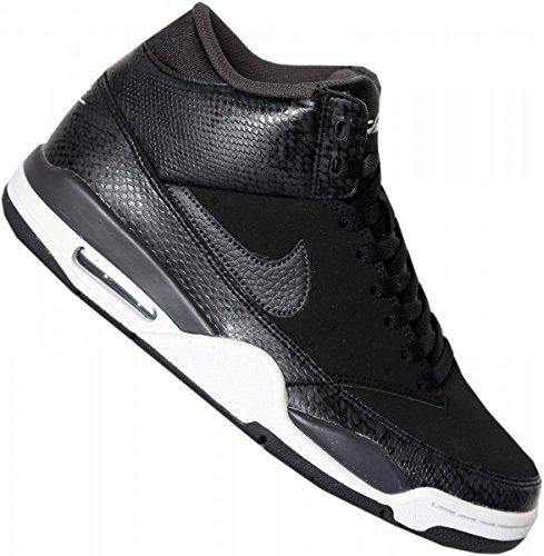 Nike Air Flight Classic, Scarpe da Basket Uomo Multicolore (Negro / Plateado / (Black / Anthracite-pure Platinum))
