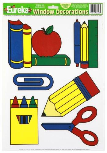 Eureka 846030 School Tools Clings