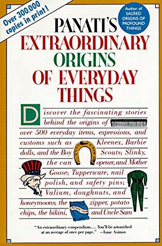 Panati's Extraordinary Origins of Everyday (Miscellaneous Object Holder)