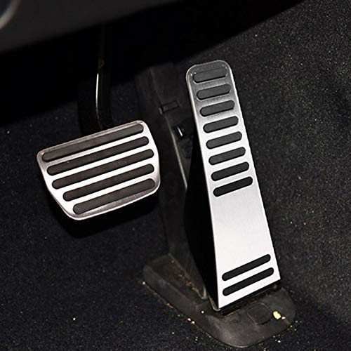 Yunjiadodo Car Accessories Stainless Steel Brake Gas Accelerator Pedal decor Trim Cover Fits VOLVO 15-19 XC90
