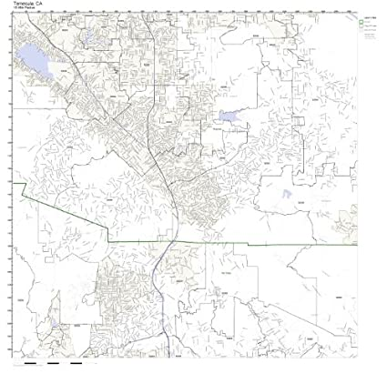 Amazon Com Temecula Ca Zip Code Map Not Laminated Home Kitchen