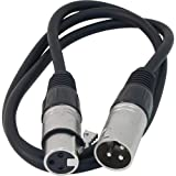 Whirlwind MIC3 XLR Female to XLR Male Microphone Cable