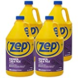 Zep Shower Tub and Tile Cleaner 128 ounce ZUSTT128 (Case of 4)