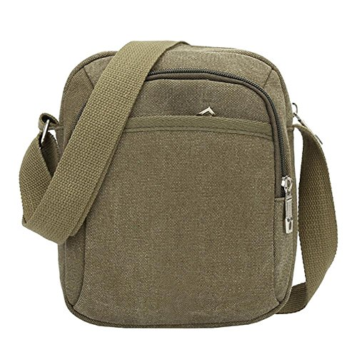 Widewing Bag Bags Canvas Crossbody Korean Handbag Army Green Men Travel Fashion Casual Shoulder wrxYrqX1