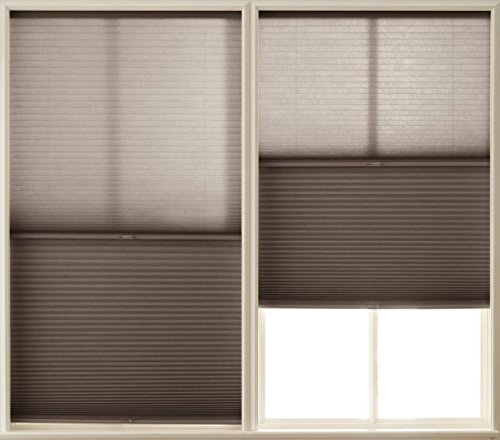 mirage day night cordless cellular shade espresso 47x64