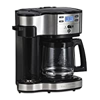 Hamilton Beach Single Serve Coffee Brewer and Full Pot Coffee Maker, 2-Way (49980A)