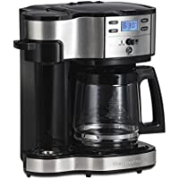 Hamilton Beach (49980A) Single Serve Coffee Maker and...