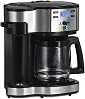 Save on Hamilton Beach 49980A 2-Way Coffee Brewer