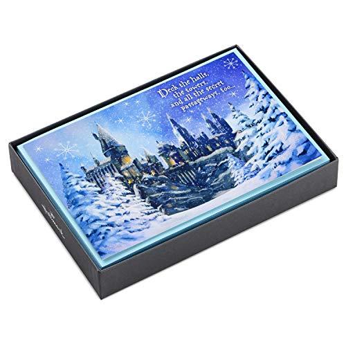 Hallmark Harry Potter Christmas Boxed Cards (16 Cards and 17 Envelopes) (Hallmark Christmas Cards)