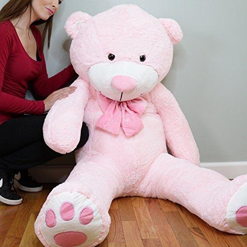 Yesbears5ft.Giant Pink Teddy Bear