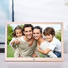 """OLDTIME® 12"""" Digital Photo Picture Frame IPS 1280*800 & HD Video (1080p) with 8GB SD Memory ,Advertising Machine Alarm Clock MP3 MP4 Movie Player with Remote Control, Christmas Gift Present …"""