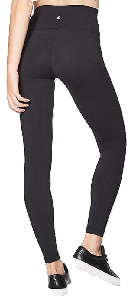 Lululemon Wunder Under Yoga Pants High-Rise (Black, 6) by Lululemon