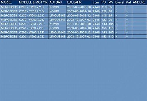 Ets Exhaust 3079 Endtopf Auspuff Für C200 T203 C200 W203 C220 T203 C220 W203 2 2 D Kombi Limousine 2000 2007 Auto