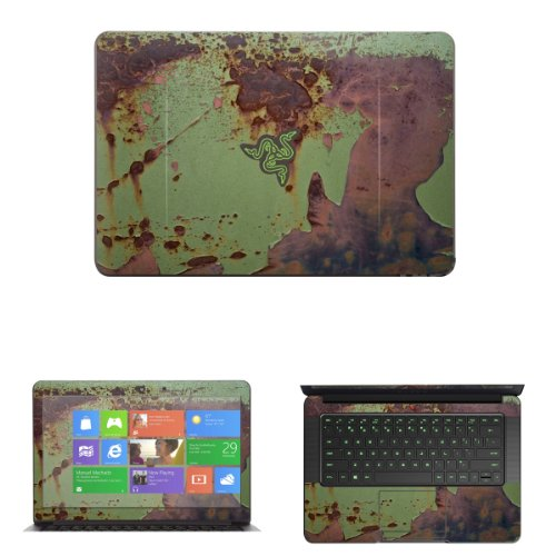 """Decalrus - Decal Skin Sticker for Razer Blade RZ09 14 with Touch & None Touch 14"""" screen (IMPORTANT NOTE: compare your laptop to """"IDENTIFY"""" image on this listing for correct model) case cover wrap Razerblade14-87"""